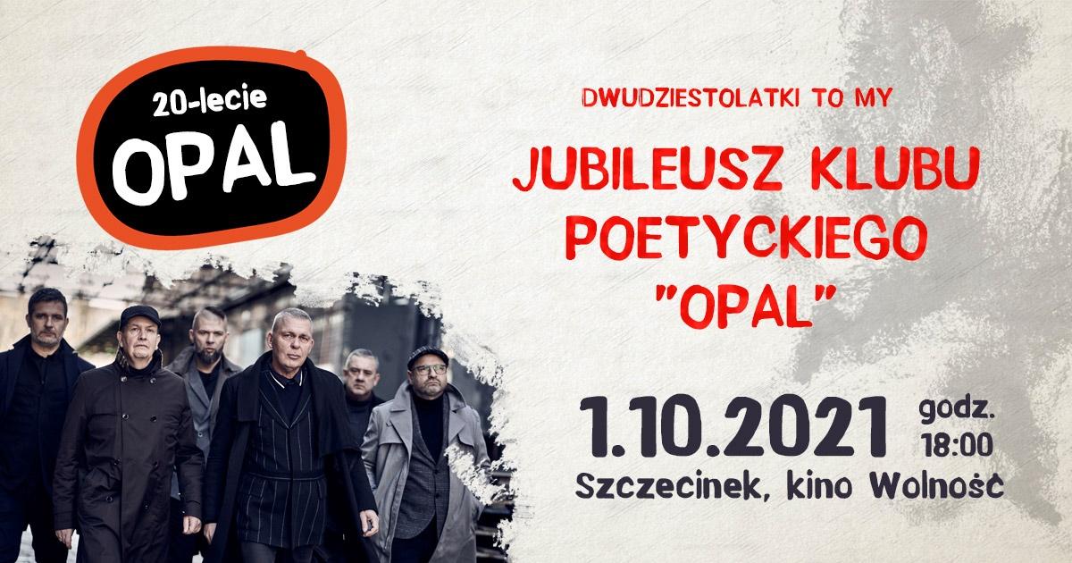 Jubileusz Klubu poetyckiego OPAL