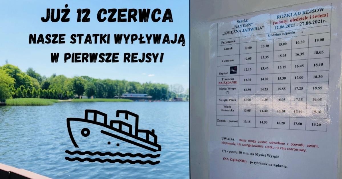 Szczecineckie statki wypływają w pierwsze rejsy!